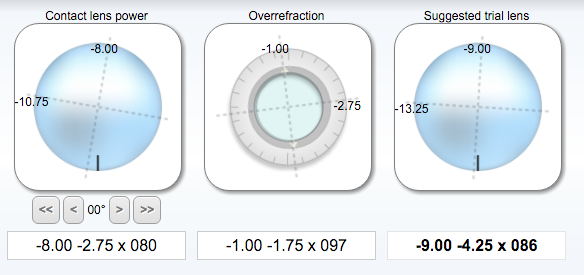 toric lens calc screenshot